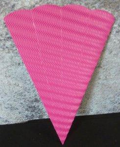 Schultüten Rohling pink
