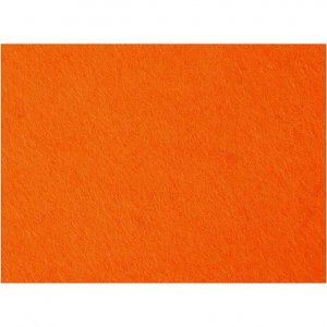 Bastelfilz orange