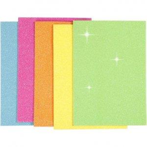 Glitter Moosgummi A5 Sortierung 2