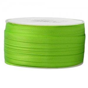 Doppelsatinband 6mm hellgrün