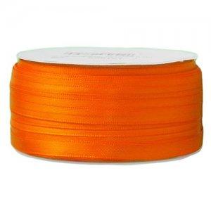 Doppelsatinband 6mm orange