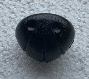 Kunststoffnase schwarz 24mm