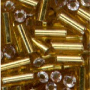 Glasstifte gold mit Silbereinzug