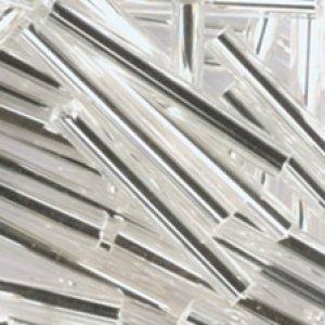 Glasstifte silber mit Silbereinzug
