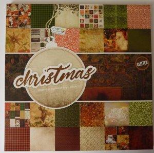 Design Block Christmas mit Glitter 2