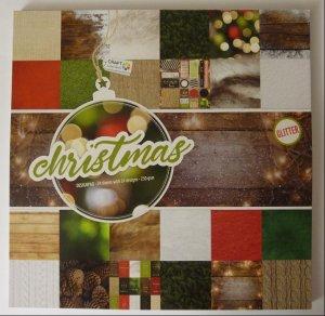 Design Block Christmas mit Glitter 3