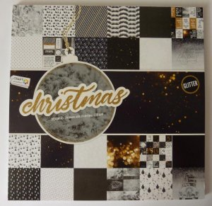 Design Block Christmas mit Glitter 4
