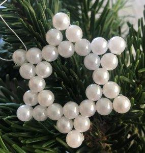 Perlenstern weiß